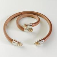 Hals- en Armband 10-7 Light Brown (2)
